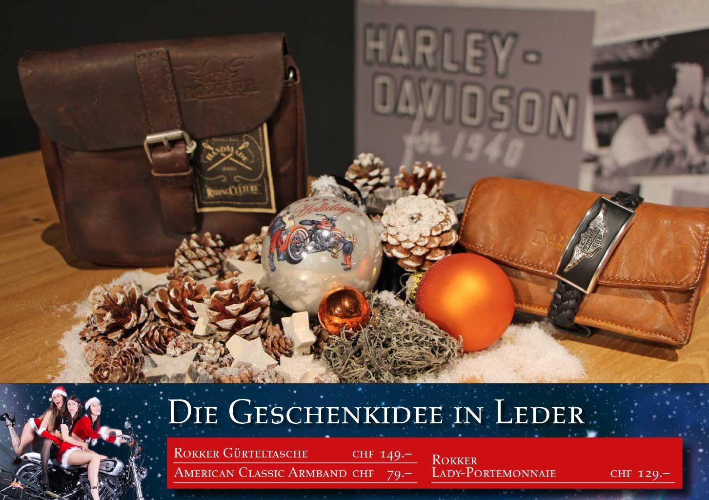coole geschenkideen f r weihnachten harley heaven b chli ag. Black Bedroom Furniture Sets. Home Design Ideas